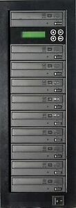 MediaStor #a24 Karaoke 1-9, 1 to 9 Target CD+G & DVD Duplicator, Replication