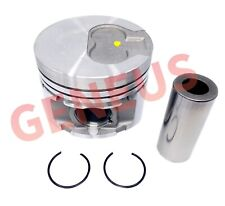 Piston with pin for Lombardini engine LDW2204 INDIRECT INJECTION   STD 0.50 1.00