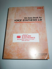 Oki 1994 Data Book for Voice Synthesis Lsi Fifth Edition March 1994