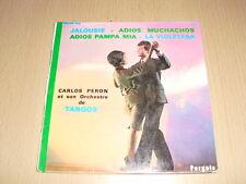 Carlos Peron Et Son Orchestre – Jalousie 7'' 45 RPM Mono
