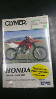 New Clymer Honda Service Manual XR650R 2000-2007 M225