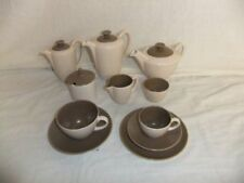 Twintone Brown 1960-1979 Date Range Poole Pottery