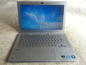 Sony Vaio SVS Core i5 HDD500 4GB Ram Display 13 Nvidia Geforce