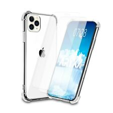 2PK Screen Protector With Case for iPhone 12 Pro Max Mini XR 11 6S 7 8 X Cover