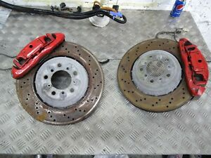 BMW E92 E93 E90 M3 Front brake calipers with disc carriers etc BBK conversion