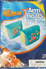 NEW SEALED Disney Pixar Finding Nemo Swimming Arm Floats Training Aids Ages 3+
