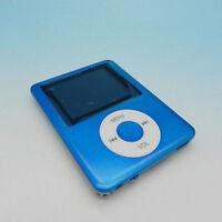 "MP3 MP4 Players 1.8"" LCD Screen FM Radio Video Games Movie ON Recorder Slim Blue"