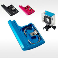 CNC Top Housing Clip Case Lock Buckle Latch Kit For GoPro Hero 4 3+ Camera