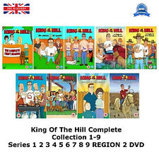 King Of The Hill Complete Collection 1-9 Series 1 2 3 4 5 6 7 8 9 NEW UK R2 DVD