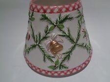 Yankee Candle Ceramic Shade Christmas Garland Crisscross