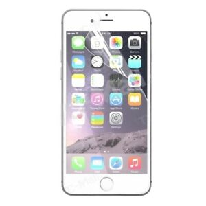 Clear Plastic Screen Guard LCD Protector Film Layer For Apple iPhone 6 6+7 7+ X