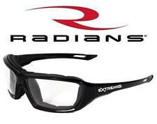 Radians Extremis Clear Anti Fog Safety Glasses Padded Motorcycle Z87.1