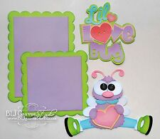 CraftEcafe Premade Paper Piecing Scrapbook Die Cut Kit Love Baby BLJgraves 4