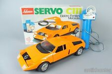 vintage schuco mercedes c111 remote control , battery operated , boxed