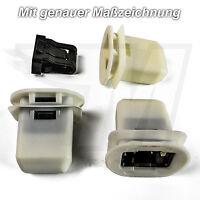 2x Kunststof Halterung Clips Rücksitzbank Rücksitz Audi A4 8K A5 A6 A7 Q7 VW UP