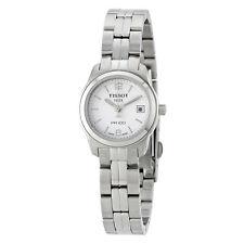 Tissot PR100 White Dial Stainless Steel Ladies Watch T0492101101700