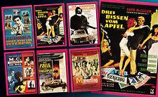 6 americana pop PARATA CALCIATORI di colla 1972 FILM LOCANDINE generi MIX Top