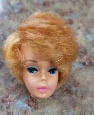 Vintage barbie Doll Bubble cut Barbie Head