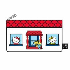 Loungefly Hello Kitty Pouch - House Print Zip Pouch - Cosmetic/Coin Bag/Case New