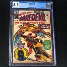 Daredevil #11 (1965) 💥 CGC 6.5 💥 The Organizer Revealed! Ani-Men Marvel Comic
