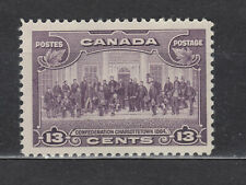 1935 #224 13¢ CHARLOTTETOWN  KING GEORGE V PICTORIAL ISSUE F-VFNH