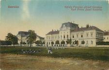 Vintage Postcard Debrecen Karl Franz Josef Kaserne Barracks Hungary