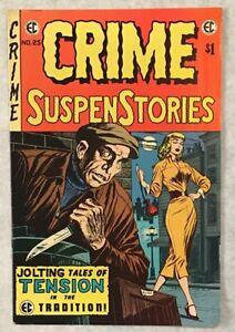 Crime SuspenStories #25 EC Comics 1974 Jack Kamen, Reed Crandall, Krigstein
