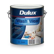 DULUX 2 LITRE INTERIOR WASH/WEAR INTERIOR MATT VIVID-WHITE COLOUR PAINT