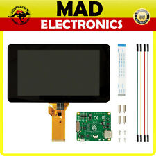 "Raspberry Pi 4/3 7"" LCD Screen TFT 10 Finger Touch Screen Official Pi Foundation"