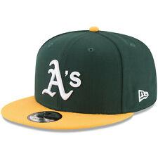 Oakland Athletics A's New Era 9FIFTY MLB Snapback Hat Cap Flat Brim 2Tone 950