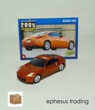 Johnny Lightning 2005 Nissan 350 Z 350Z Coupe 3.5l V6 Orange Black #2 1/64 MINT!