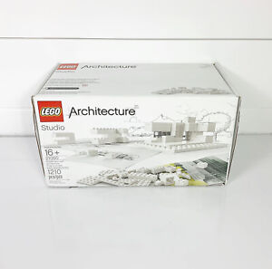 LEGO 21050 Architecture Studio Box, Booklet, Trays and Extras Complete