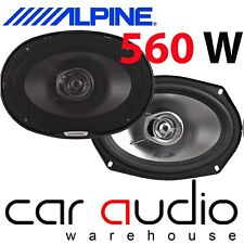 Alpine SXE-6925S 6x9 inch 2 Way 6x9 560 Watts a Pair Car Van Shelf Speakers