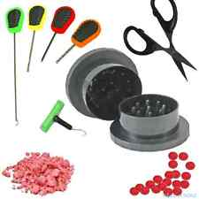Boilie Grinder / Krusha and Baiting Needle Set Carp Fishing Bait Crusher