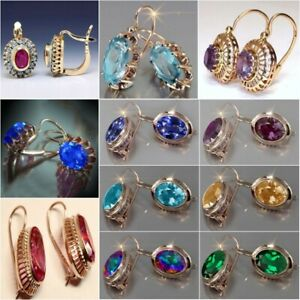 Fashion Drop Earrings 925 Silver,Gold Earring for Women Party Jewelry A Pair/set