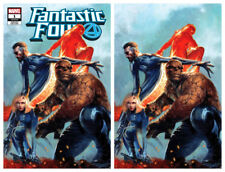 FANTASTIC FOUR #1 Dell'Otto Virgin Variant Cover Set Marvel 1st Print New NM