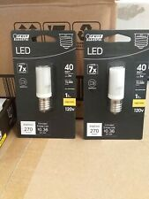 2 Feit Electric LED 3.5W (40W Replacement) Bright White T8/E17 Appliance Bulbs