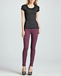 NWT Rich & Skinny Jeans legacy skinny color stretch in purple size 27