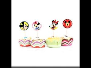 12 Minnie And Mickey Mouse Cupcake Toppers Picks