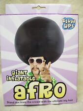 Giant Inflatable Afro Wig Funky 70s Disco Hippie Dude Cartoon Anime Bowling Ball