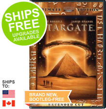 Stargate (DVD, 2003, Ultimate Edition Extended Cut) NEW, Kurt Russell, Spader