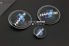 3 Pièces Logo Badge Embleme BMW Hartge E30 E36 M3 E60 M5 E63 E65 E66 Z3 Z4 X5 X3
