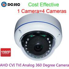 2.0MP 1080P Fish eye AHD CVI TVI Dome CCTV Security Camera Wide Angle 360 degree