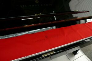 Klavier Steinway & Sons Modell K-132, 1. Hand, 1987, schwarz poliert