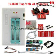 V9.16 TL866II Plus Full Adapters+SOP8 IC Clip High Speed Flash EPROM Programmer
