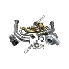 T4 T76 Turbo Kit Manifold Downpipe For Land Cruiser J80 1FZFE 1FZ-FE 1FZ