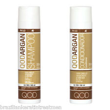 QOD ARGAN SODIUM CHLORIDE (SALT) FREE SHAMPOO & CONDITIONER 2 X 300ml
