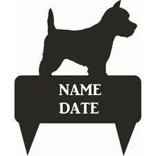 Westie Rectangular Memorial Plaque