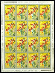 EQUATORIAL GUINEA*1974* set 6 FULL/Sheets IMP.*MNH** Flowers -Mi.No A422-427KB