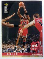 Italian: 1996 Upper Deck Collector's Choice International Michael Jordan #114